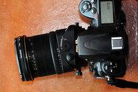 Tilt lens